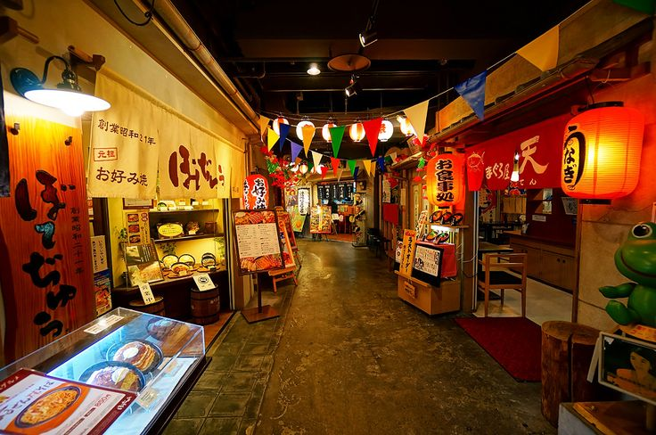 Tempozan (天保山) Marketplace Dinning Street in Osaka Japan | by TOTORORO.RORO