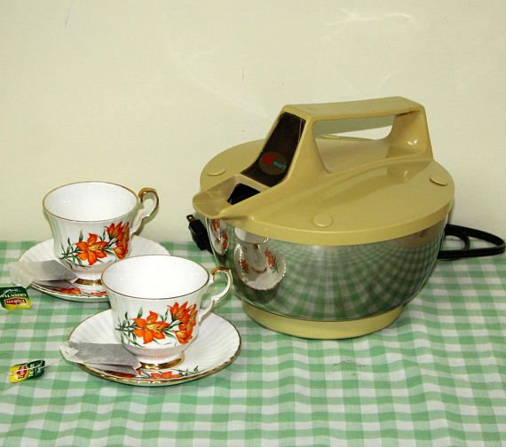Vintage Electric kettle Kmart Brand Tea Kettle with Power