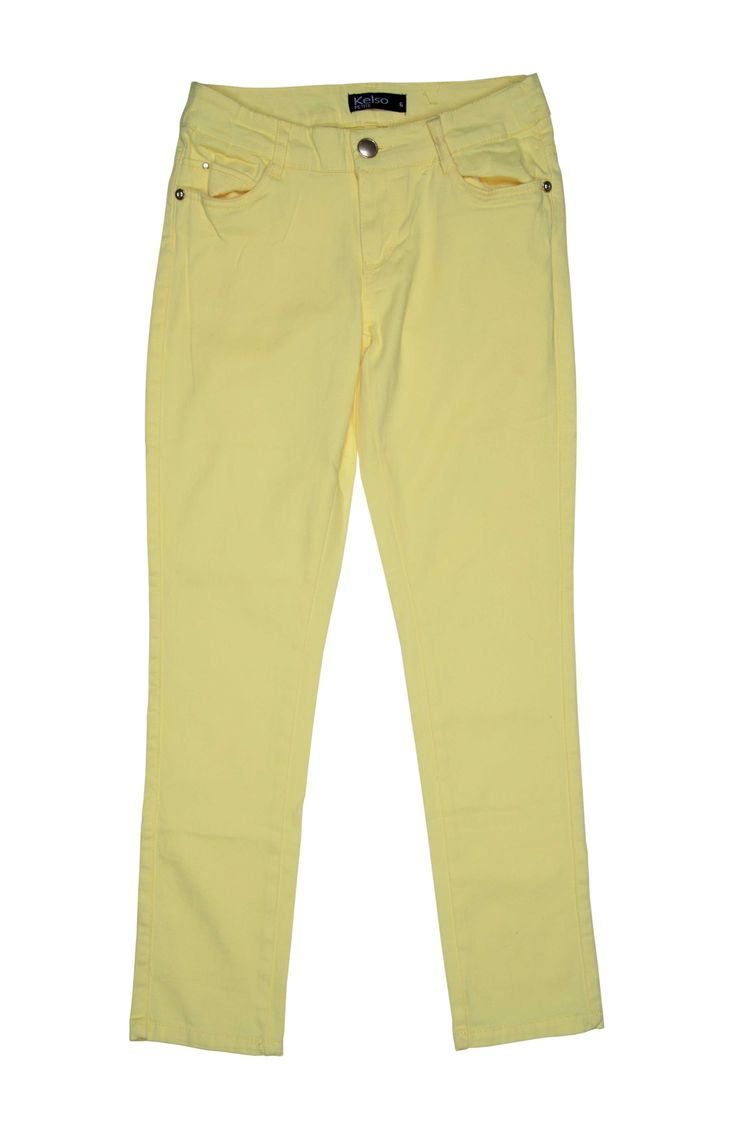 Kelso Light Yellow Denim,sunny side up