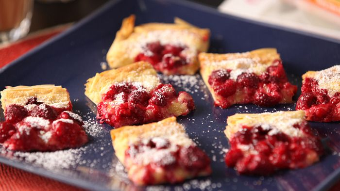 Raspberry & Macadamia Galette