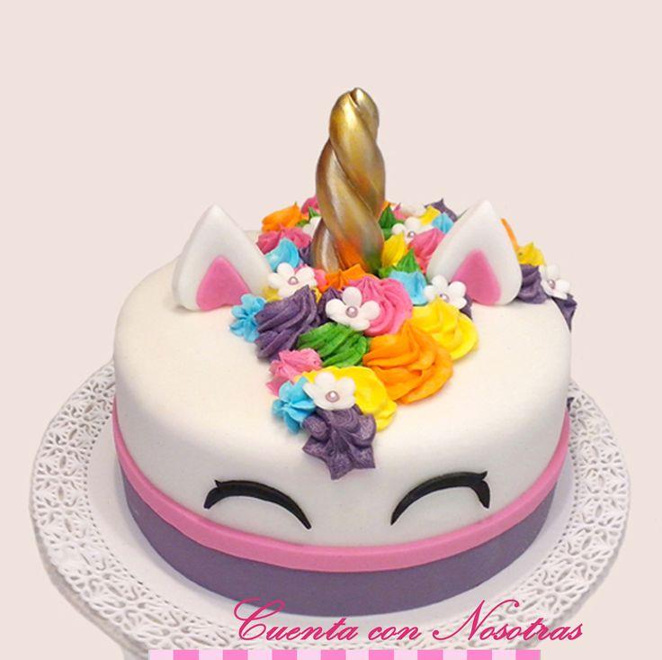Torta Unicornio, Torta Adolescentes, Cuenta con Nosotras