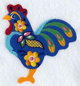 Mexican talavera - embroidery machine pattern