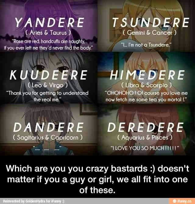 I'm a yandere and itmakes sense...(LAURANCE SENPAI!!!)
