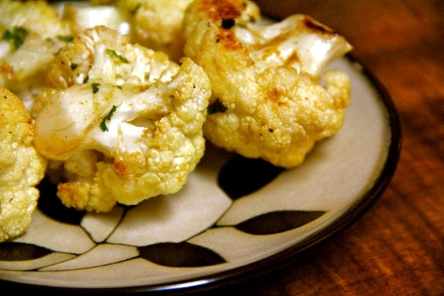 Roasted Cauliflower with Cumin, Cilantro, & Lime | Recipe