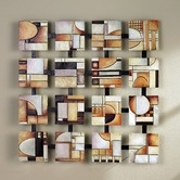 Found it at Wayfair - Briar Abstract Wall Art in Earth Tone