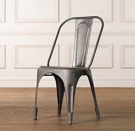 Metal chair, Stella in Gunmetal Amazon