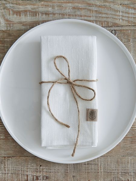 These off white linen napkins will prove perfect for any occasion - from a relaxed Sunday brunch to a beautifully styled dining table for friends or a romantic dinner-a-deux.