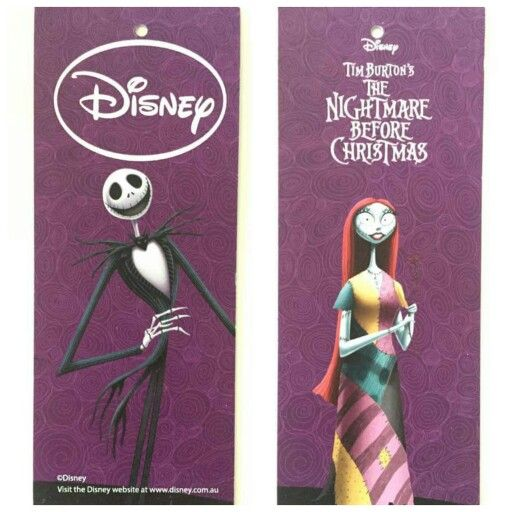 Nightmare Before Christmas Swing Tag