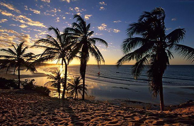 Pôr-do-sol na praia da Lagoinha -  Paraipaba -  Ceará Praia da Lagoinha (CEARÁ)!!!  :-)