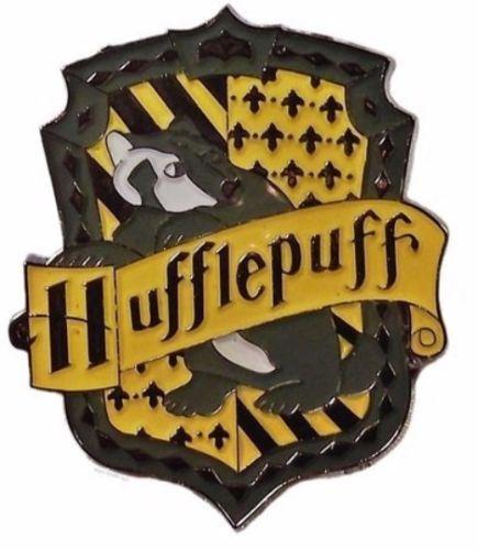 Série Harry Potter de la maison Poufsouffle crête épingle de métal émaillé