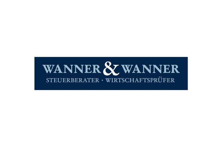 """Logo für die Steuerberatung """"Wanner & Wanner"""""""