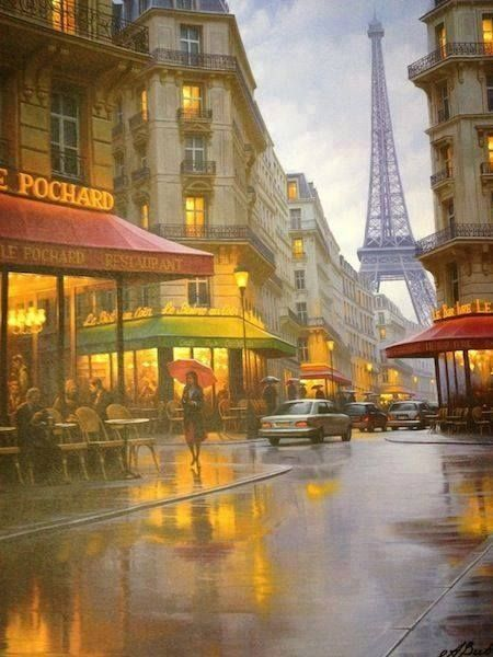 The fascinating beauty of Paris | RAINY DAYS | Beautiful ...
