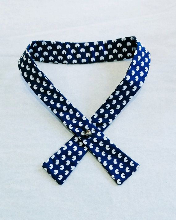 Womens Bow Tie\ Navy Blue Bow Tie\ Navy Bow Tie\ Womens Crossover Tie\ Womens Necktie\ Cross Tie\ Formal Wear\ Business Clothes\ Office Wear