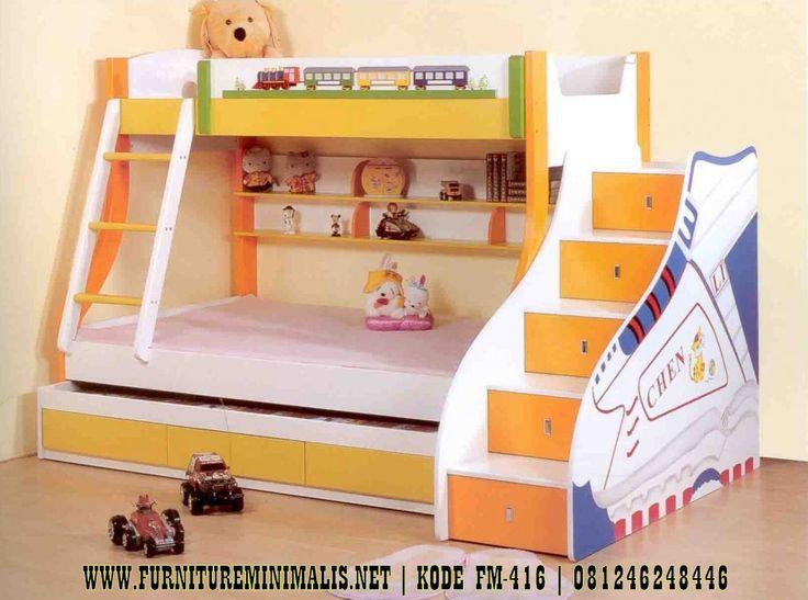 Ranjang Tingkat Tangga Laci Mewah, Ranjang Anak, Tempat Tidur Tingkat, Produksi Furniture Mebel Jepara Berkualitas Elegant Dan Terjamin.