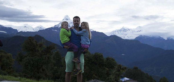 Fishtail mountain view from Australian Camp, Nepal