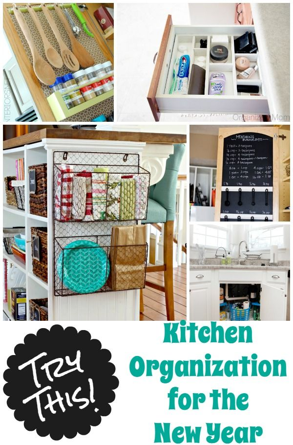 9 ways to get your kitchen organized in the new year with Four Generations One Roof
