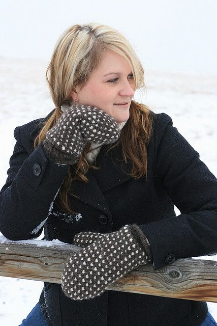 "Ravelry: Thrummed Crochet Mittens pattern by Marlaina ""Marly"" Bird"