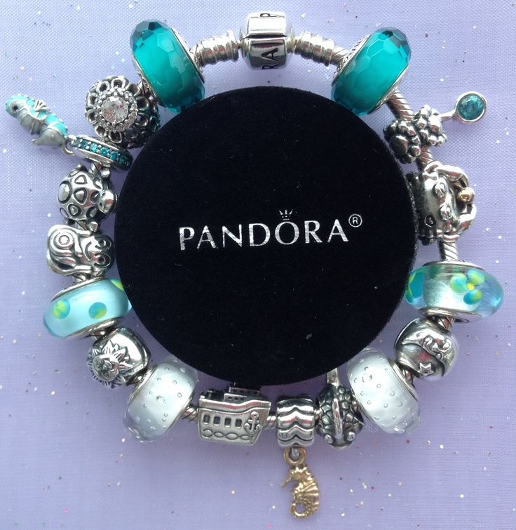 Pandora Under the Sea Teal