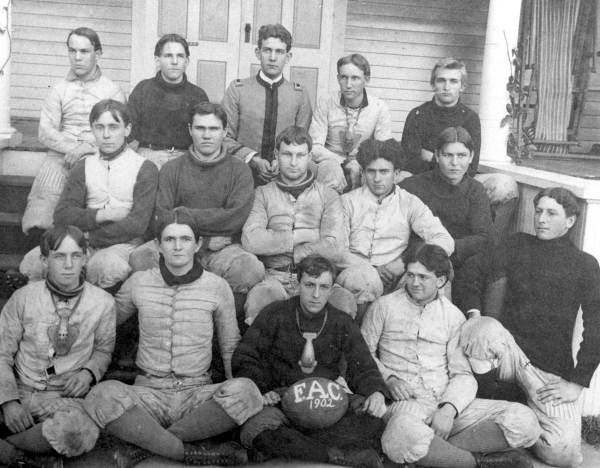 Football team of the Florida Agricultural College: Lake City, Florida