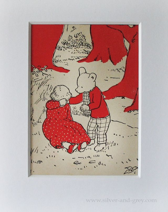 Rupert the Bear and The Greedy Princess illustration