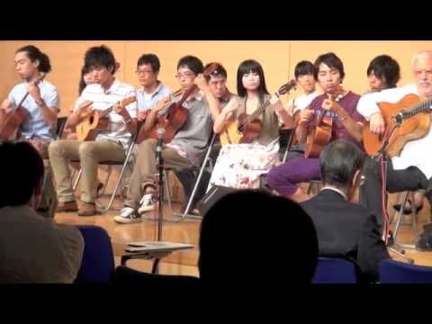 Asian students playing Venezuelan music. Como llora una estrella - ラテンアメリカ音楽演奏入門2011成果発表コンサート