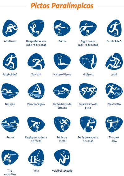 画像 : 【Logo】リオ・オリンピック2016の公式ロゴマーク・ピクトグラムが可愛い【Pictogram】 - NAVER まとめ