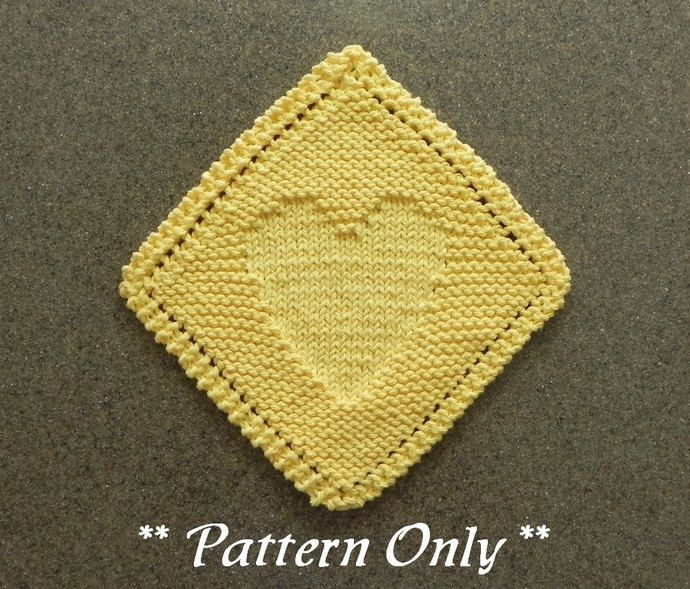 Knitting Dishcloths Easy : Best knit dishcloth patterns images on pinterest