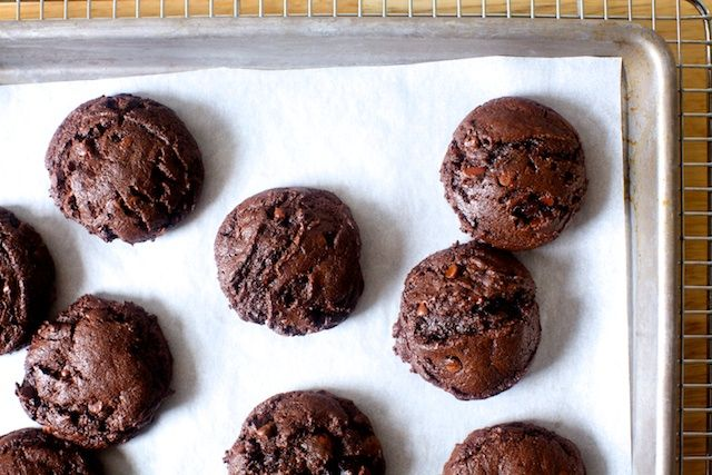 I have, for forever and a day, looked for a chocolate cookie I could crown with what I considered the highest honor one could bestow on it, declaring it the browniest cookie. I just didn't ex…