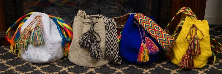 CAD$100. Beautiful handmade Wayuu bag from La Guajira, Colombia. #mochila
