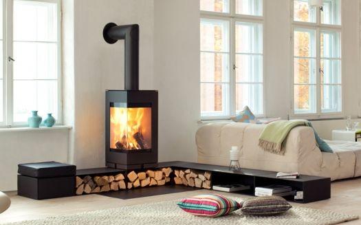 Skantherm elements wood burning modular stove system