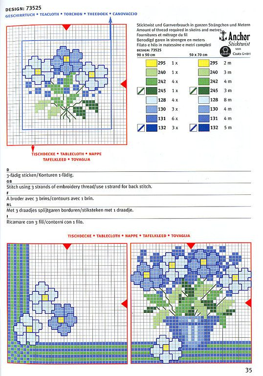 Solo Patrones Punto Cruz (pág. 1108) | Aprender manualidades es facilisimo.com