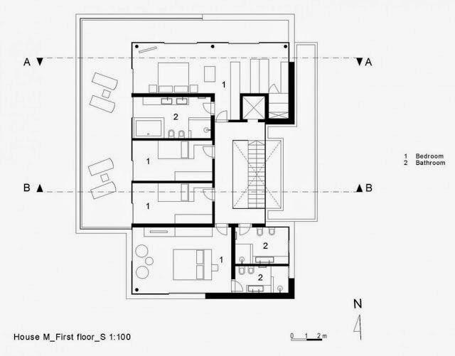Casa toda branca com planta – arquitetura maravilhosa e decoração minimalista!   – Projeto casas