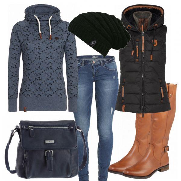 Herbst-Outfits: HerbstlichKuehl bei FrauenOutfits.de
