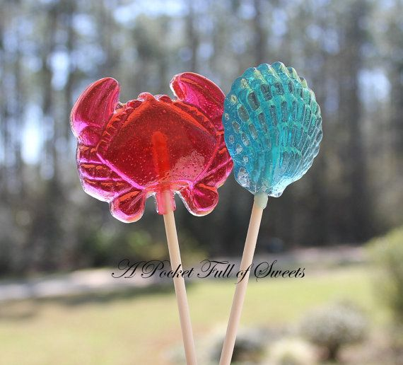 Mermaid Party Ariel Party Beach Party Favors Clam Shell