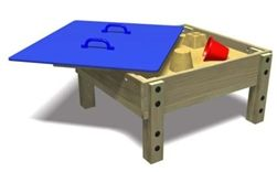 Sandpit Table with Removable Top