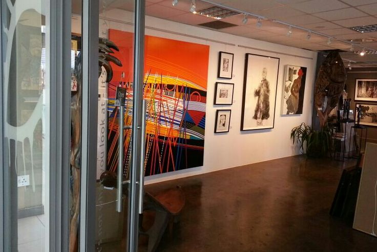 Amazing new works just hung. Come see!