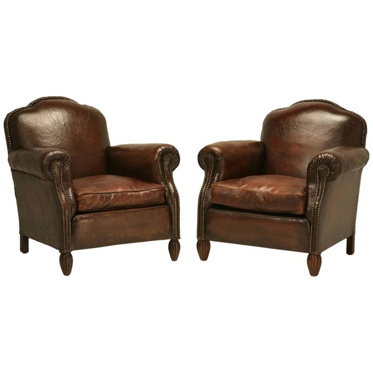 1000 Ideas About Leather Club Chairs On Pinterest Club