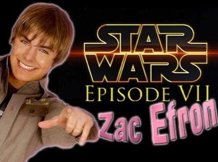 Zac Efron dans le prochain Star Wars ?