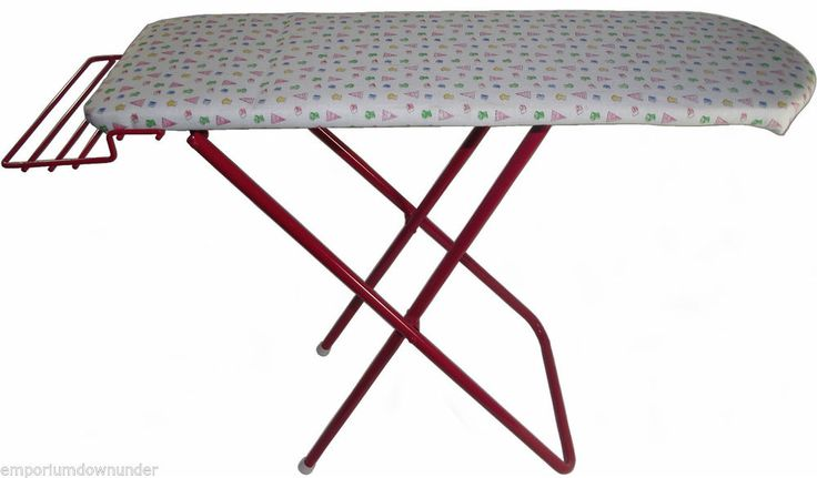 Kids Ironing Board Folding Metal Childrens Pretend Play Toy Childs Christmas New