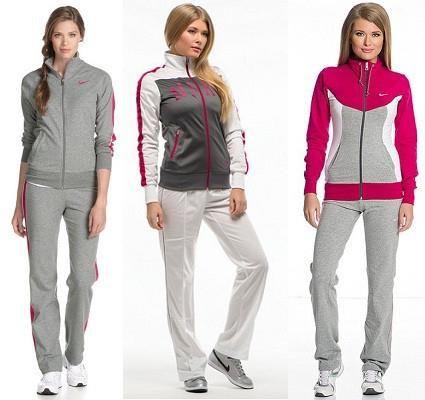 Женские спортивные костюмы фирмы nike