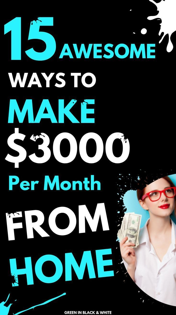 15 Awesome Ways to Make Money from Home? This will help you with 15 supplemental… – Work From Home
