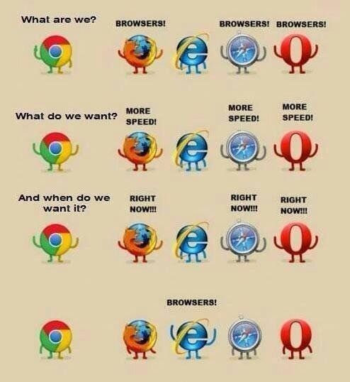 For those who love open source browsers... : funny