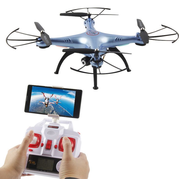RC Drone with HD Camera 720P Remote Control Quadcopter Helicopter 6-Axis Professional Dron X5 Drones Without Camera