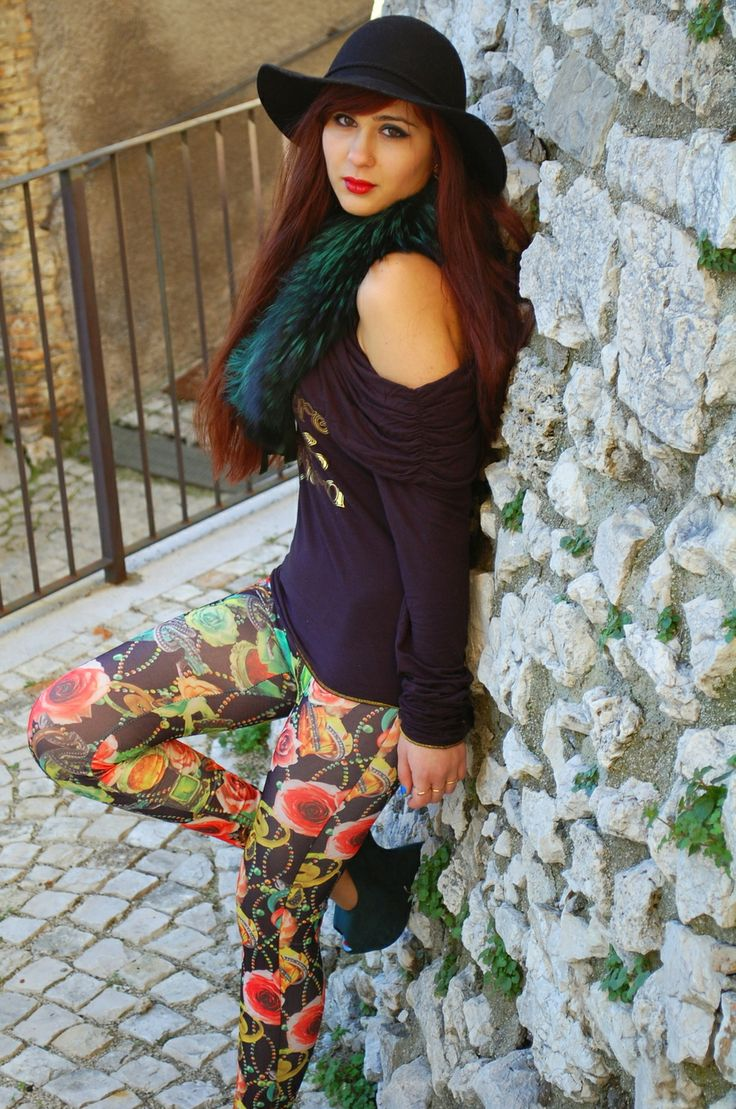 """♥ this look on whatiwear.com by VERONICA_MICIA """"THERE IS NO ROSE WITHOUT THORNS"""" http://www.whatiwear.com/look/detail/176550"""