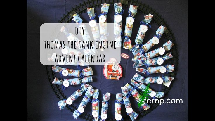 DIY Thomas the Tank Engine Advent Calendar | The Fern Life