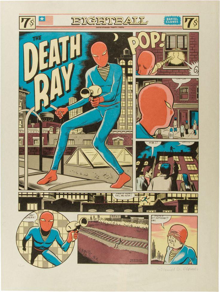 Daniel Clowes - Death Ray - comics