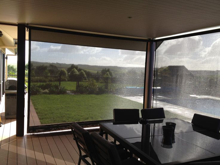 Roller Blinds in Mesh fabric - Instant protection from UV Rays