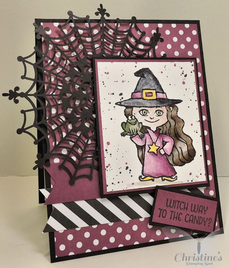 Stampin' Up!; Haunt Ya Later stamp set; halloween card; rubber stamping…