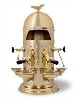 """VFA Gold Dome """"1930"""" - 2 group commercial espresso machine """"volumetric dosing"""" - Love The old look to it"""