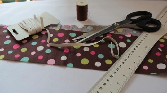 Pas-à-pas : réalisez un chouchou sans couture apparente - Tuto : how to sew a scrunchie ?